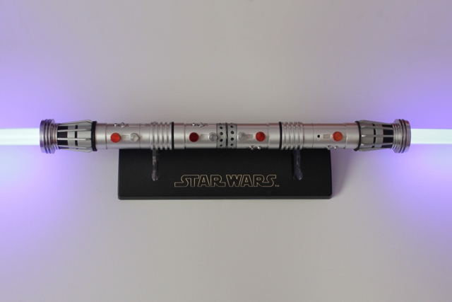 Darth Maul 2010 TPM (HASBRO STAR WARS SIGNATURE SERIES FORCE FX LIGHTSABER TM)